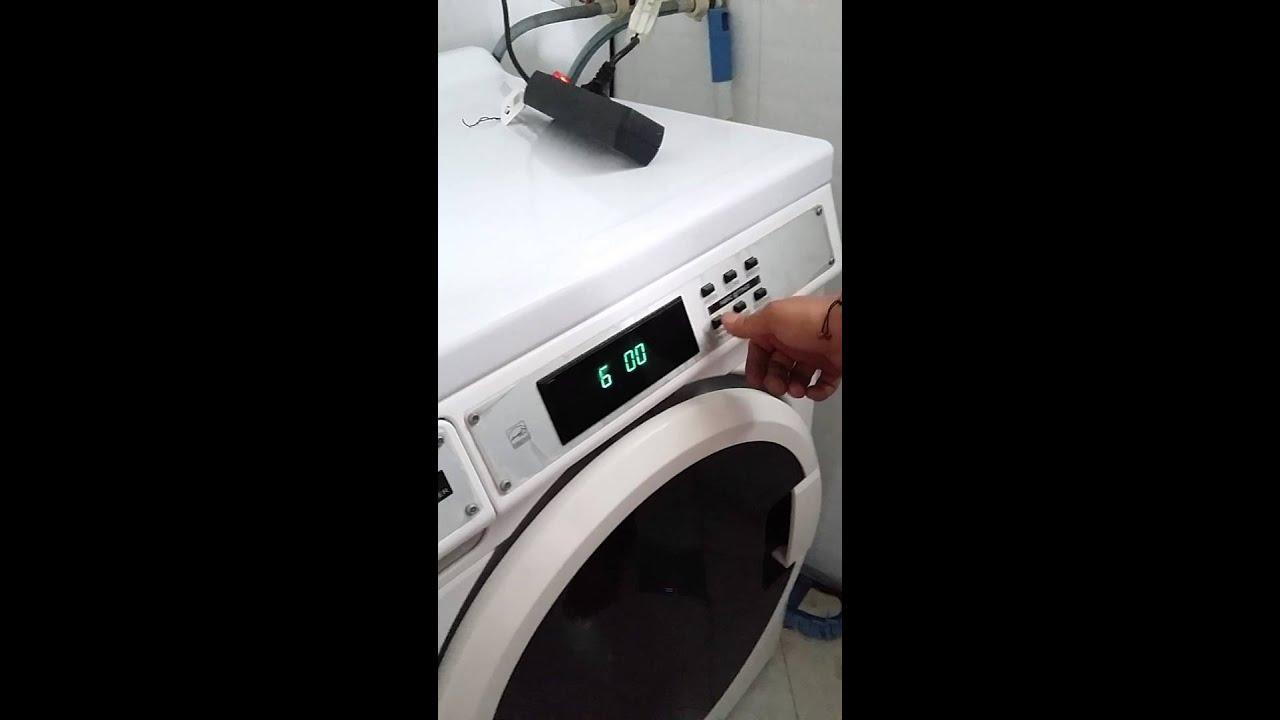 Cara setting mesin cuci maytag - YouTube