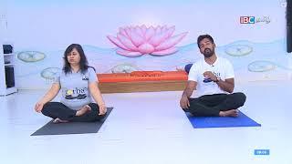 3 Important Pranayamas   Aasanam Arivom   28-02-2018 - IBC Tamil TV   Yoga Class for Beginners