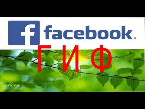 Как добавить картинку Гиф в Фейсбуке