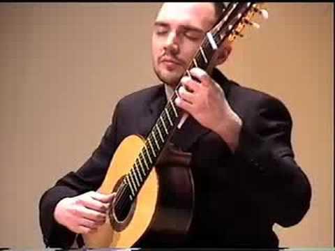 Drew Henderson plays Paganini Grand Sonata Andantino Variato