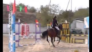 Детский турнир по конному спорту в Бахчисарае