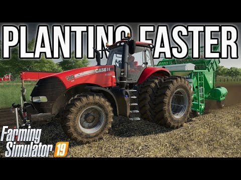 HOW TO MAKE IMPLEMENTS WORK FASTER! (XML Editing) | Farming Simulator 19