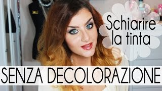 CAPELLI: Schiarire una tinta SENZA DECOLORAZIONE - Uber Hair Color Remover | None Fashion and Beauty Thumbnail