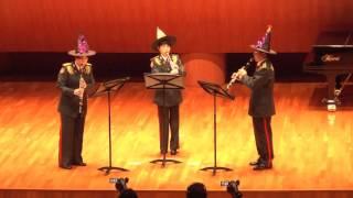 陸上自衛隊第1音楽隊 第1回室内楽演奏会 クラリネット3重奏 3つの魔法 ...