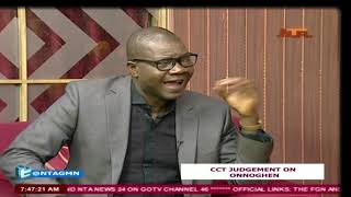 "NTA GMN 19 APRIL 2019: ""CCT's conviction of Justice Walter Onnoghen''"