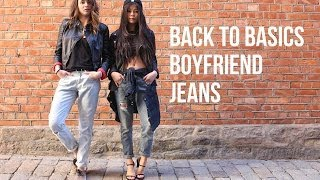 Back to Basics: Boyfriend Jeans