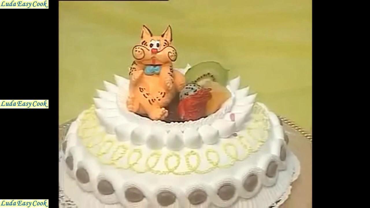 очень красивый торт своими руками, украшаем домашний праздник