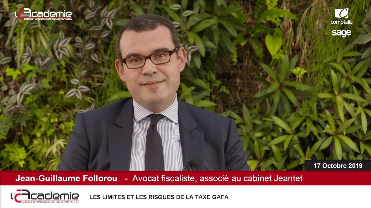 Les Entretiens de l'Académie : Jean-Guillaume Follourou