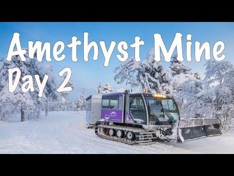 Rovaniemi, Finland - Day 2 | Lampivaara Amethyst Mine