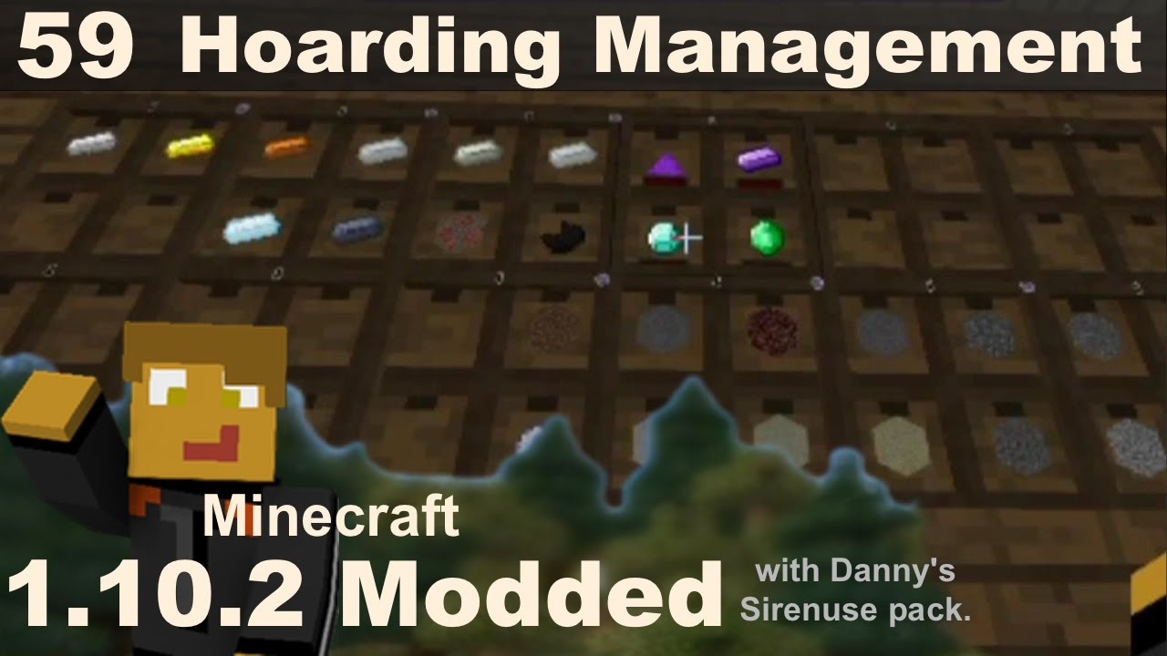 Modded 1 10 2 - E59 - Storage Drawers, Refined Storage & Super Circuit Maker