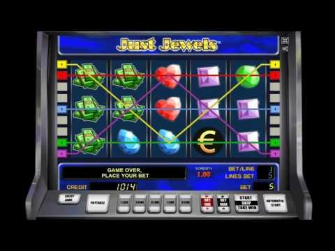 Как играть в игровой автомат Just Jewels. Обучающее видео.