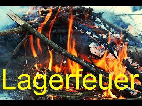 Wie macht man ein Lagerfeuer?   Wanderfalke