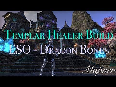 Templar Healer Build for Trials - Updated for Dragon Bones