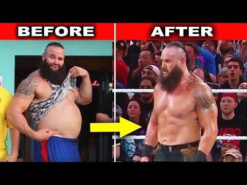 10 Amazing WWE Body Transformations 2019 - Braun Strowman, Brock Lesnar & more