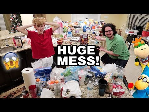 OUR DESTROYED HOUSE AFTER AN SML VIDEO!!