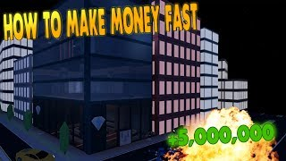 ROBLOX JAIL BREAK || Best Way To Make Money Fast On Jail Break (Money Method)