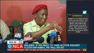 Malema questions Ramaphosa's knowledge on VBS bank scandal