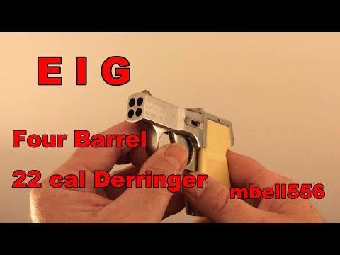 EIG Four Barrel 22 Caliber Derringer: Shop Evaluation and Field Test