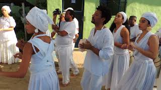 Black Royalty Visit: The King is greeted by Afro Brazilian spiritual group