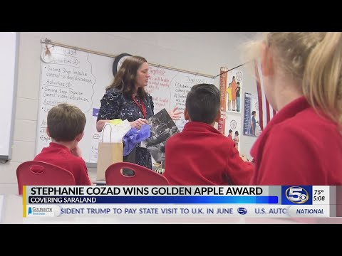 VIDEO: Student says our Golden Apple winner has made things much better for him