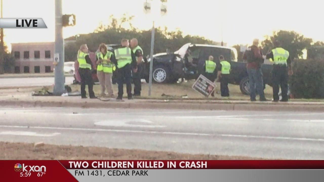 Two children killed in Cedar Park crash on W  Whitestone Blvd