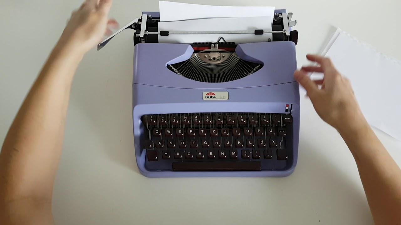 Tony's Typewriters - Atlas S11