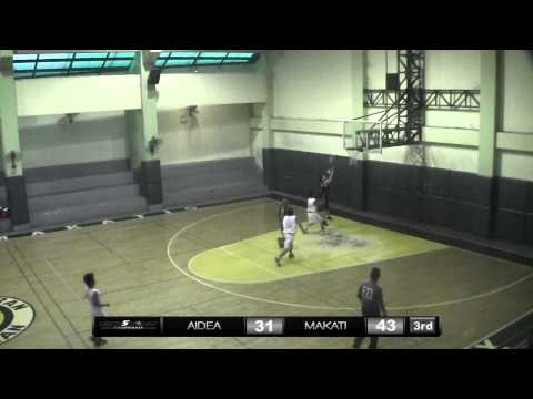Aidea Philippines vs. Makati City Hall   Game Highlights   May 5, 2013