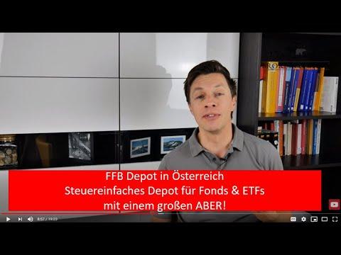 FFB Depot in Österreich: Fondsdepot mit 100 % Rabatt auf Ausgabeaufschlag inkl. ETFs