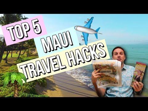 Top 5 Maui Travel Hacks & Tips!   Condominium Rentals Hawaii