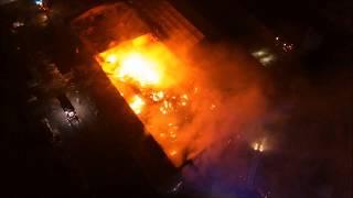 Poważny pożar zakładu