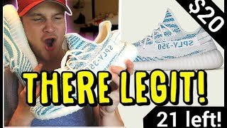BUYING REAL SAMPLE YEEZYS OFF INSTAGRAM ADS!! ARE THEY LEGIT?!