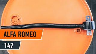 Installazione Braccetto sospensione sinistra e destra ALFA ROMEO 147: manuale video