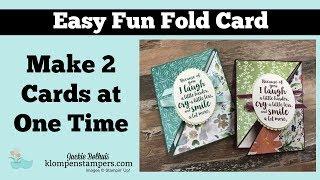 Fun Fold Triangle Card
