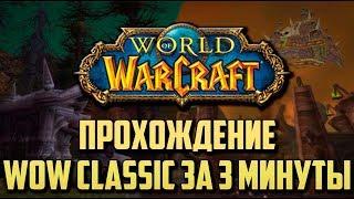 ПРОХОЖДЕНИЕ WORLD OF WARCRAFT CLASSIC ЗА 3 МИНУТЫ!
