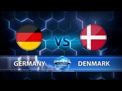 Nexus Games Europe - Group B Match 6 – Germany vs. Denmark - Game 2