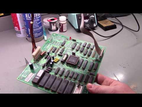 Mortal Kombat 2 Arcade Sound Board Repair [HD]