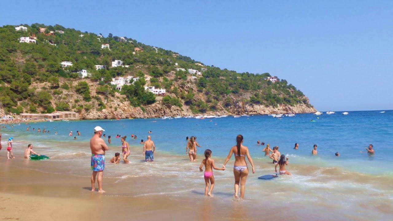 Aguas Blancas Playa Nudista En Ibiza Youtube