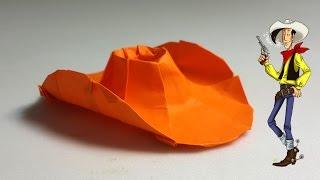 Origami Cowboy Hat tutorial - DIY (Henry Phạm)