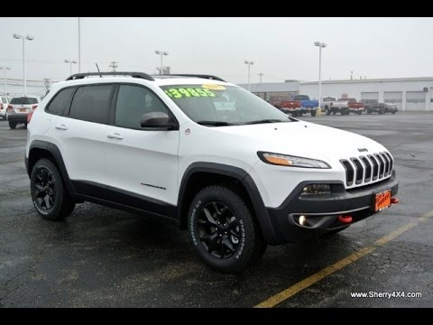 2015 jeep cherokee trailhawk v6 4x4 for sale dayton troy piqua sidney ohio 27288t youtube. Black Bedroom Furniture Sets. Home Design Ideas