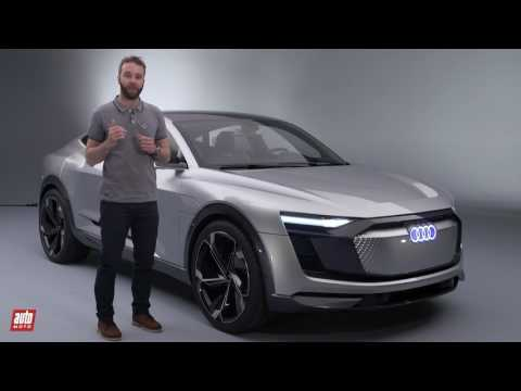 2017 Audi e-Tron Quattro Sportback Concept [PRESENTATION] : au doigt et à l