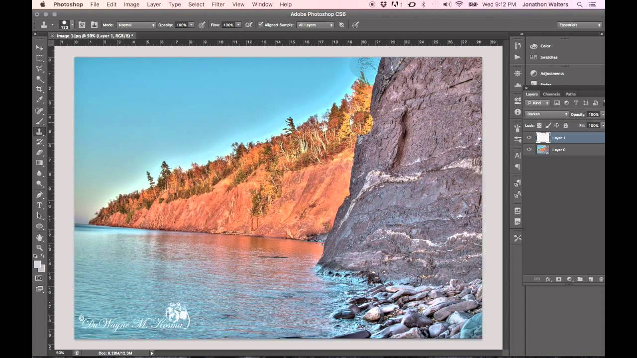 how to get rid of edge halos in photoshop