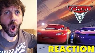 CARS 3 Extended Sneak Peek REACTION
