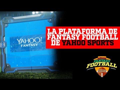 GUIA FANTASY FOOTBALL 2015- YAHOO SPORTS Análisis de Plataforma
