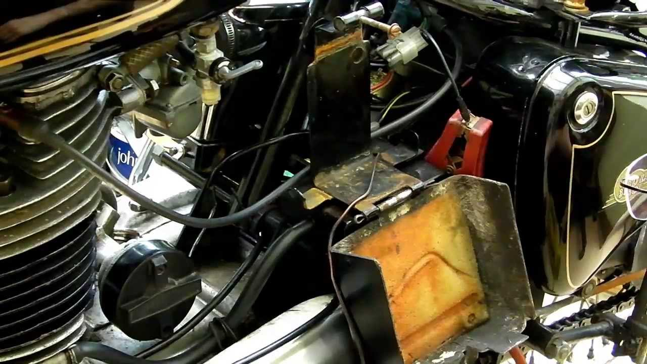 Royal Enfield Bullet 350 classic, Electrical charging system check. -  YouTubeYouTube