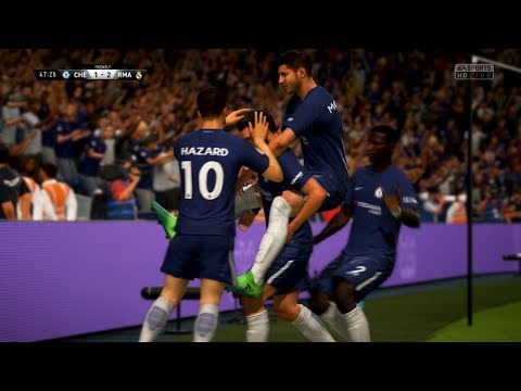 ⭐FIFA 18 Gameplay - Chelsea Vs. Real Madrid - OMGGG WHAT A COMEBACK! 😱