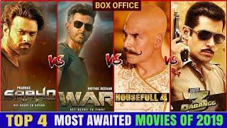 Saaho Movie, War Movie, Housefull 4 Movie, Dabangg 3 Movie, Prabhash, Hrithik, Tiger, Akshay, Salman