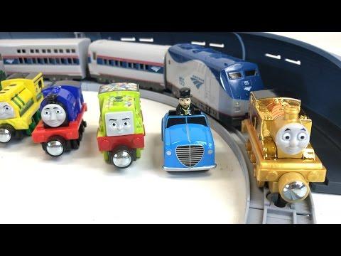 AMTRAK Toy Passenger Train Set and Thomas Take N Play