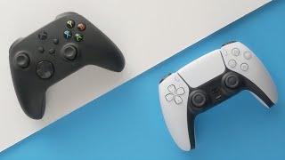 PS5 DualSense vs Xbox Series X Controller Hands-On Comparison