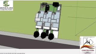 Sobrado popular auto padrão apartamentos casas germinada
