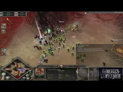 [Dawn of War 1] Chris(Necrons) vs Ultra(Space Marines)